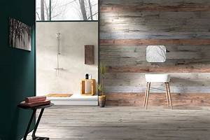 Tips to install wood plank walls with simple ways for Bathroom in the woods