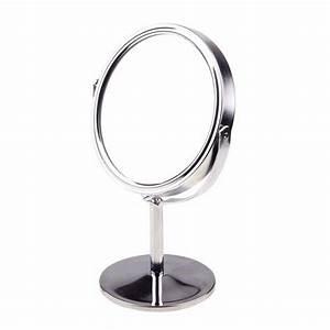 Petit Miroir Rond : petit miroir rond de maquillage sur pied panda beauty ~ Teatrodelosmanantiales.com Idées de Décoration