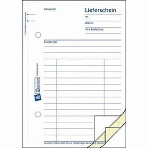 Lieferschein Blanko : avery zweckform 725 lieferschein a6 ~ Themetempest.com Abrechnung