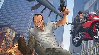 Gta Characters Main Gun Movement Screen Resolution
