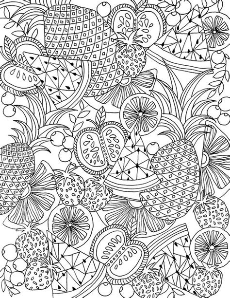 coloring for adults 20 free printable summer coloring pages for adults
