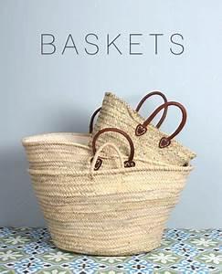 Panier En Osier Souple : bohemia baskets handmade fair trade o s i e r ~ Nature-et-papiers.com Idées de Décoration