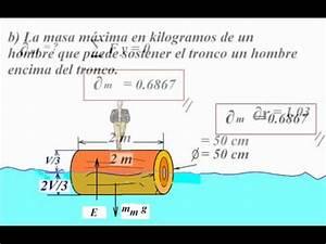 MECANICA DE FLUIDOS - EMPUJE - PROBLEMA Nº01.wmv - YouTube