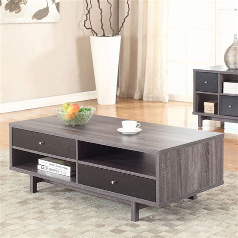 Explore 12 listings for wood coffee table with storage at best prices. Coaster Furniture Black Glass Top Coffee Table with Chrome Base - 705388 | Coffee table wood ...