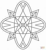 Kaleidoscope Coloring Pages Printable Drawing Games Puzzle Cif Categories Supercoloring Paper sketch template