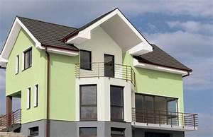Fassadenfarbe Beispiele Gestaltung : fassaden farbig gestalten ~ Orissabook.com Haus und Dekorationen