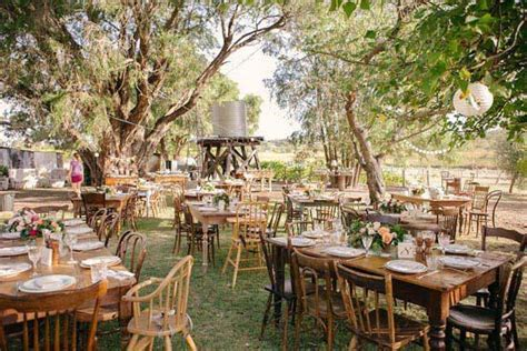 rochelle  gordons rustic outdoor wedding weddbook
