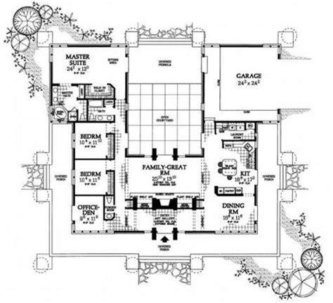 shaped house plans  pool bing images plan de