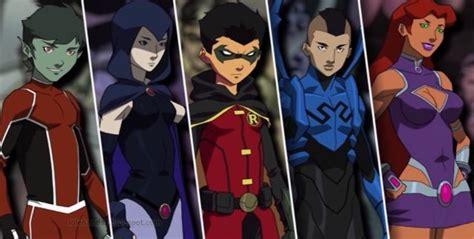 distintas versiones de los teen titans teen titans en