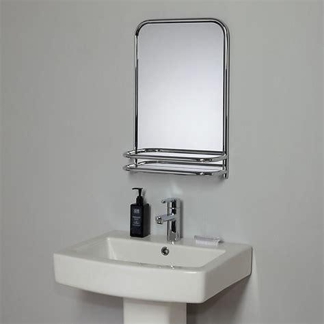 Mirror Shelf Bathroom by Buy Lewis Restoration Bathroom Wall Mirror With Shelf