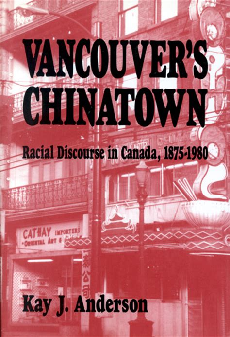 vancouver s chinatown mcgill queen s university press