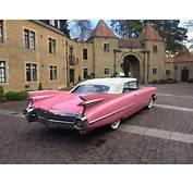 Pink Cadillac Wedding Car Hire London & Essex  LA Stretch
