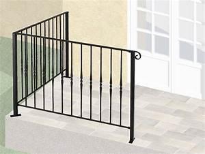 Garde De Corps Terrasse : garde corps de terrasse en fer forg armelle leferronnier ~ Melissatoandfro.com Idées de Décoration