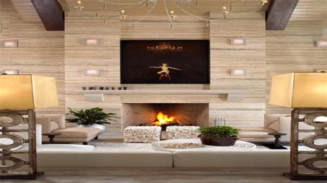 Gothic Room Ideas, Modern Fireplace Wall Designs