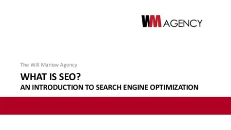 search engine optimization agency what is seo a guide to search engine optimization