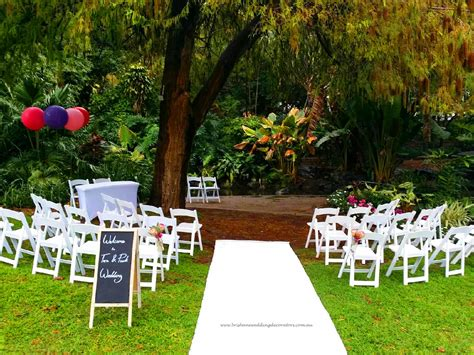 Garden Decoration Brisbane by Wedding Lawn 2 Brisbane Wedding Ceremony Decorators
