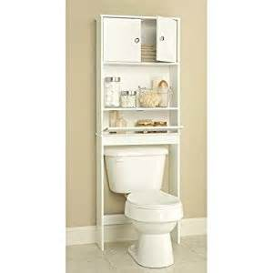 amazon com bathroom over the toilet storage cabinet home