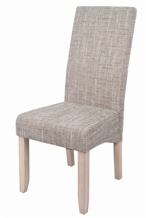 chaise tissu salle a manger chaise de salle a manger en tissu