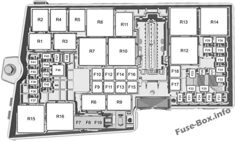 fuse box diagram gt ford transit connect 2014 2018