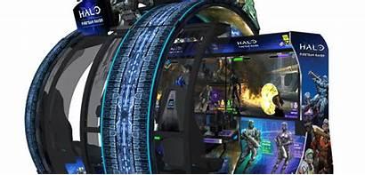 Halo Arcade July Raven Fireteam Cabinet
