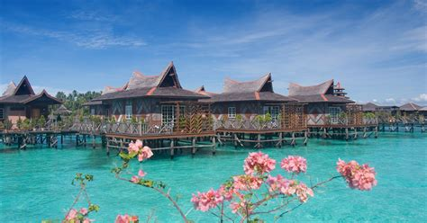 mabul water bungalows mabul island sabah malaysia