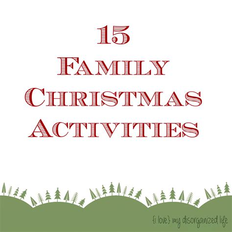 15 family christmas activities miss information