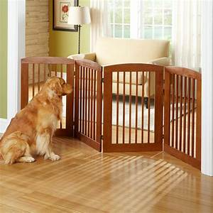 Panel zigzag dog gate traditional dog gates by the for Dog fence for inside house