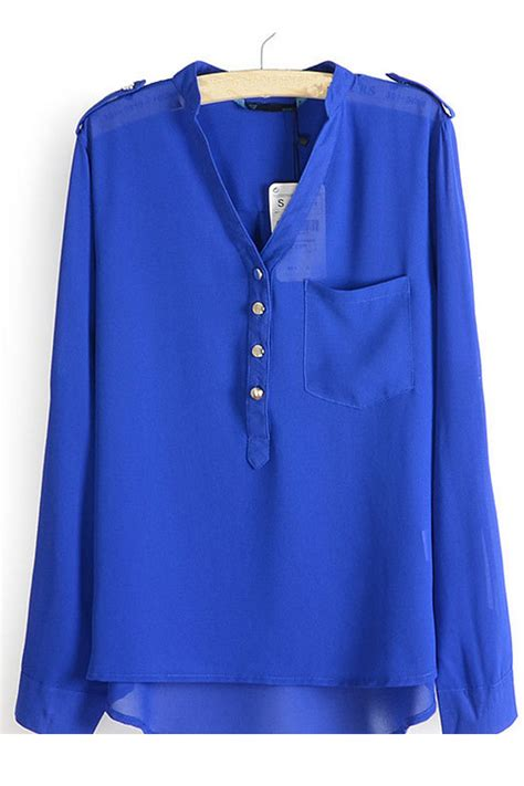 navy blouses kettymore style small collar shirt blouse