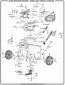 Homelite Hu80722 Pressure Washer Parts Diagram For General