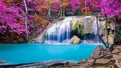 Waterfall Relaxing Wallpapers Spring Sleep Nature Hours