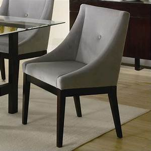 Coaster Alvarado Upholstered Dining Chair in Cappuccino