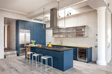 country blue kitchen cabinets cozinha azul 70 inspira 231 245 es de decora 231 227 o a cor 5938