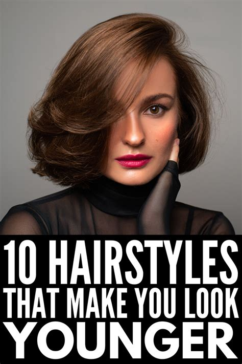 Middle Age & Fabulous: 10 Hairstyles That Make You Look