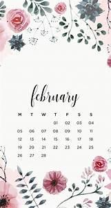 February 2020 Calendar Clip Art 39 S Studyblr February Floral Phone Wallpapers Here