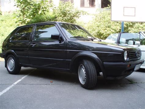 black volkswagen volkswagen golf mk2 black