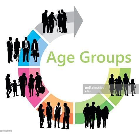 Age Group Chart High Res Vector Graphic Getty Images