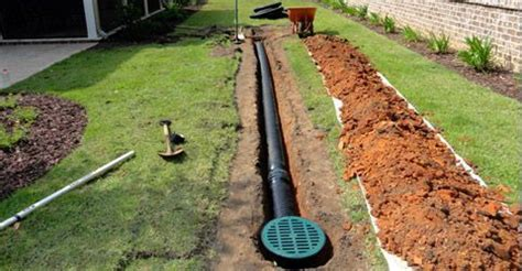 Catch Basin In Backyard by Drains Catch Basin Drains Trench Drains Yard