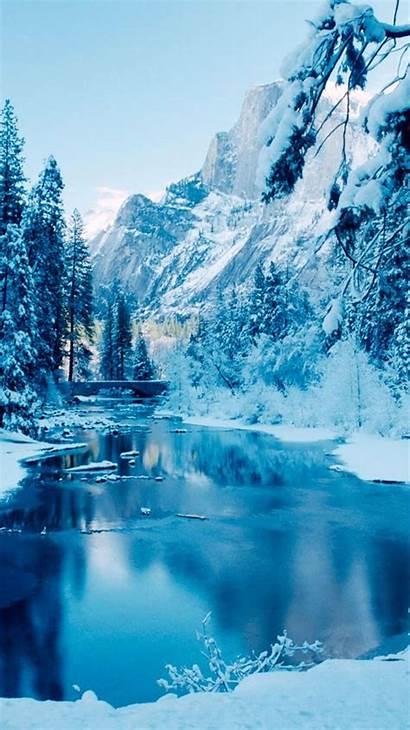 Iphone Winter Wallpapers Desktop Nature Ipad
