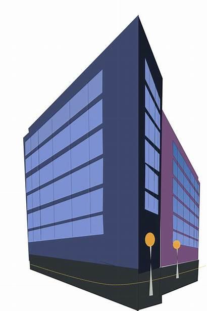 Building Clipart Commercial Transparent Webstockreview