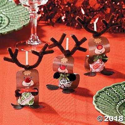 Paper Reindeer Pops Craft Idea