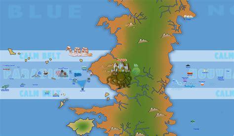 Carte Nouveau Monde 2017 by All Blue Map One New World Shinsekai By Kiwik2010 On