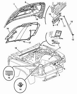 2003 Dodge Dakota Hood Release Diagram