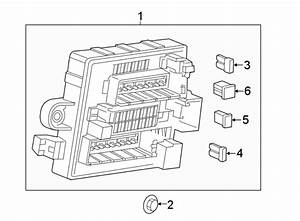 Chevrolet Traverse Fuse  Amp  Compartment  Engine