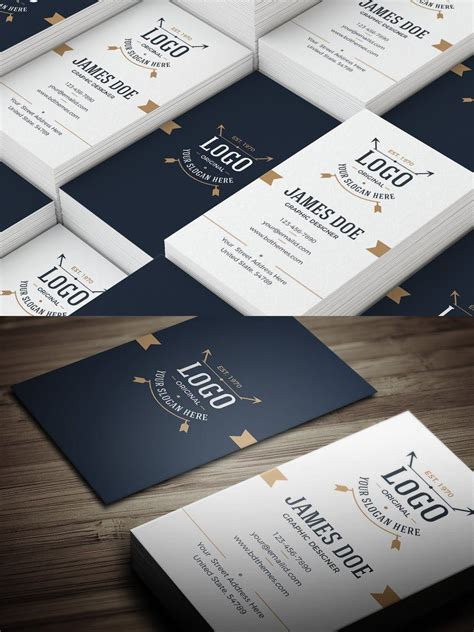 business card template retro   images business