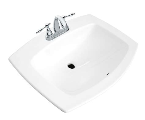 glacier bay bathroom sinks glacier bay galla rectangular drop in bathroom sink the