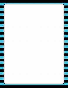 microsoft word free template downloads printable blue and black striped border use the border in