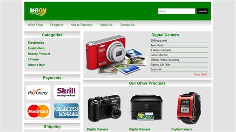 free ebay ebay shop template free