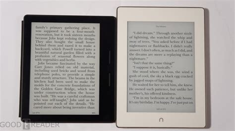 Barnes And Noble Nook Glowlight Plus Vs Kindle Oasis