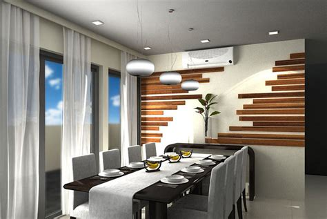 delightful dining rooms  wooden wall panels home