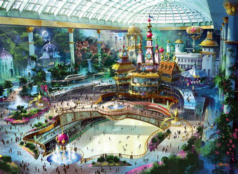 World Theme Park by Theme Park Concepts A World Of Imagination